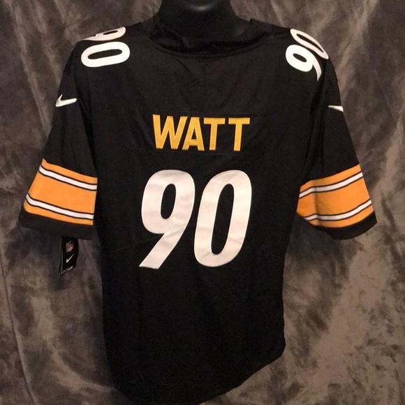 detailed look 13df1 806ed TJ Watt Pittsburgh Steelers Nike Jersey XXL NWT